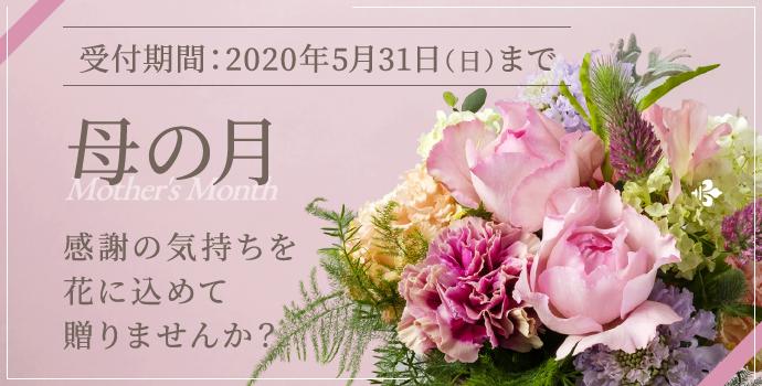 母の日 感謝の気持ちを花に込めて贈りませんか?